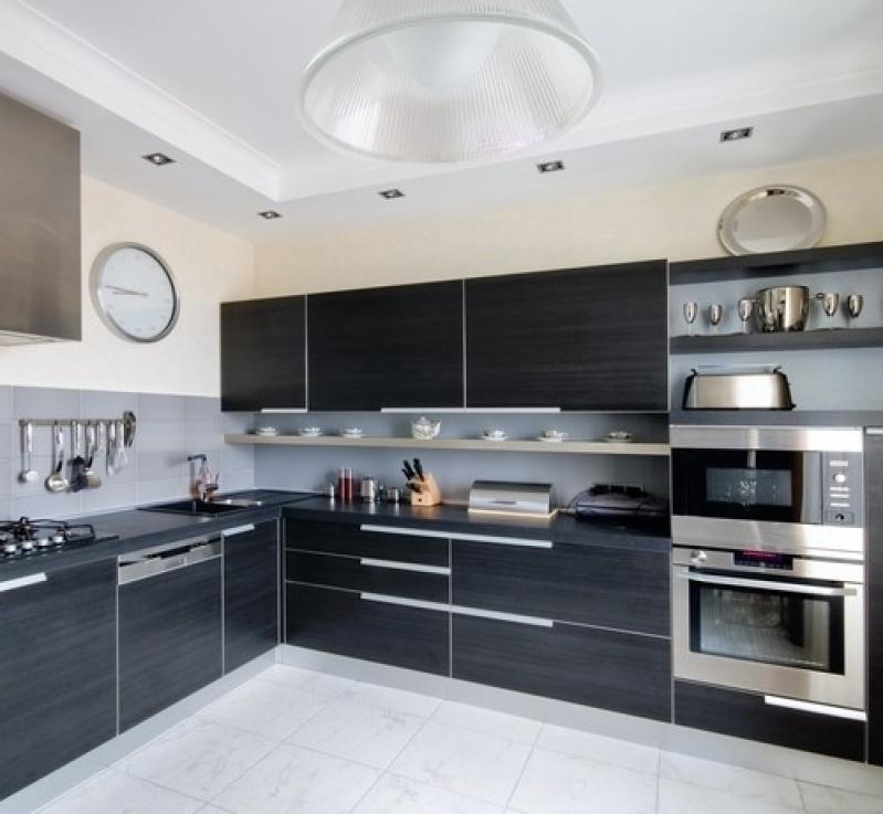 Cozinha sob Medida com Bancada em Guarulhos na Mooca - Cozinha sob Medida para Espaço Pequeno