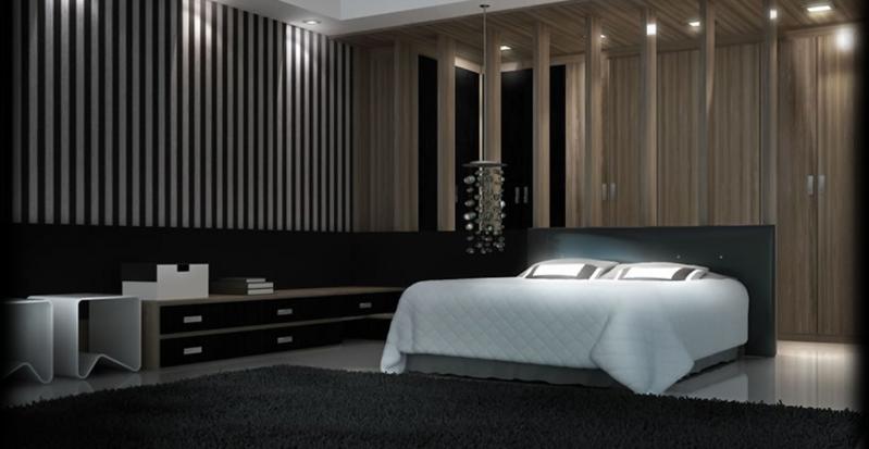 Dormitórios Planejados de Casal para Apartamentos no Morro Grande - Dormitório Planejado Pequeno