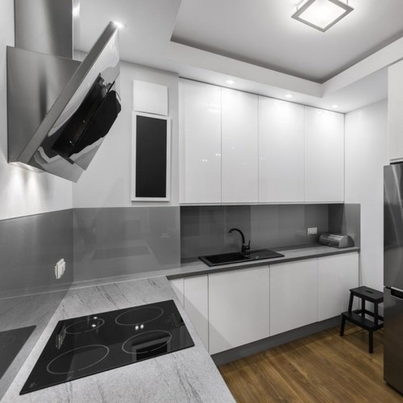 Orçamento de Cozinha sob Medida para Apartamento Pequeno na Água Azul - Cozinha sob Medida para Espaço Pequeno