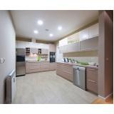 cozinha planejada com fogão embutido preço na Vila Barros