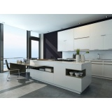 cozinha planejada com ilha preço na Sadokim