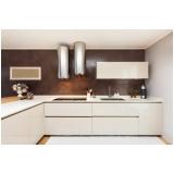 cozinha planejada com modulos Maia