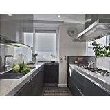 cozinha planejada de vidro em guarulhos na Vila Galvão