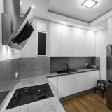 cozinha planejada para apartamento pequeno na Torres Tibagy