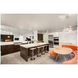 cozinha planejada para pequenos apartamentos Torres Tibagy