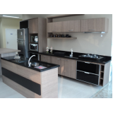 cozinha sob medida granito na Sadokim