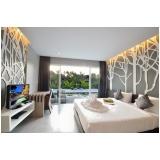dormitório planejado de casal para apartamento em guarulhos no Jardim Aracília