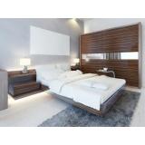 dormitório planejado de casal para apartamento no Jardim Aracília
