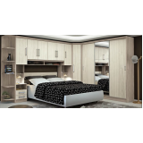dormitório planejado de casal para apartamento