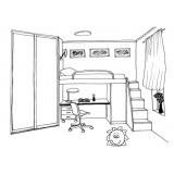 mobiliários sob medida para dormitórios
