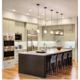 móveis planejados para cozinha americana