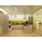 projeto de cozinha planejada Jardim Presidente Dutra
