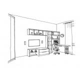 quanto custa mobiliários sob medida para dormitórios Bom Clima